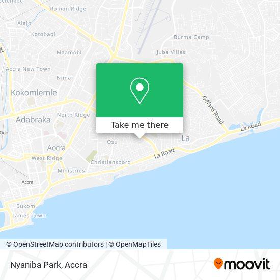 Nyaniba Park map