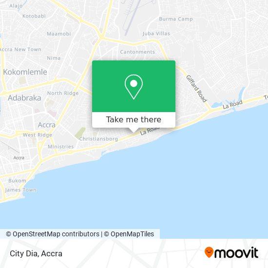 City Dia map