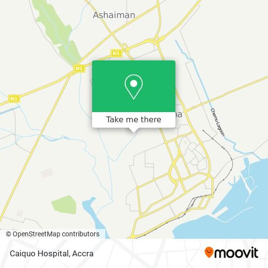 Caiquo Hospital map
