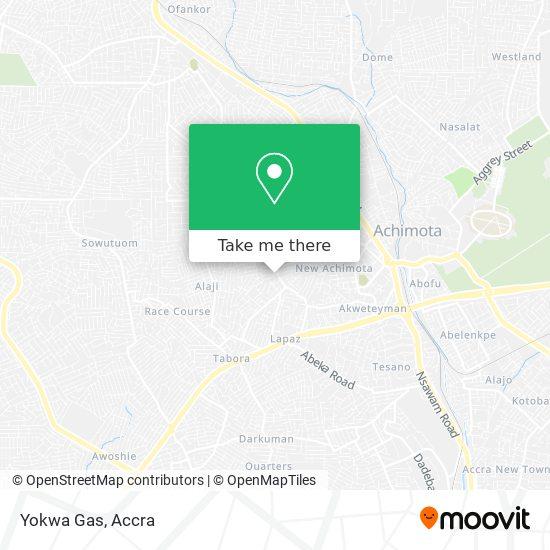 Yokwa Gas map