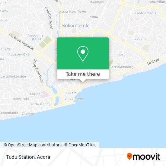 Tudu Station map