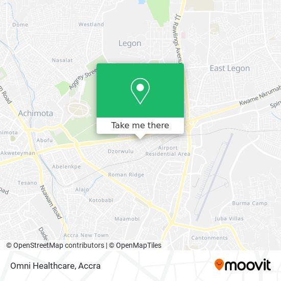Omni Healthcare map
