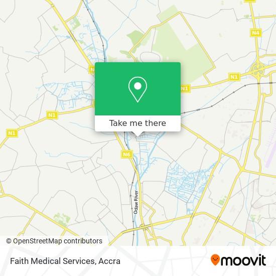 Faith Medical Services map