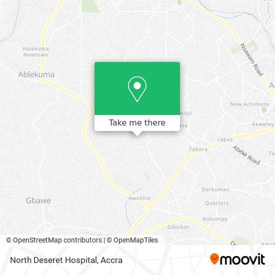 North Deseret Hospital map