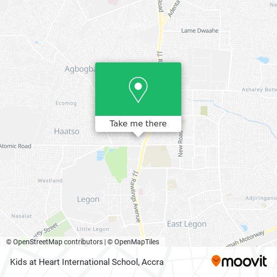 Kids At Heart International School map