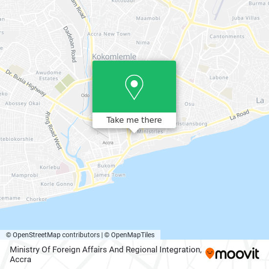 Ministry Of Foreign Affairs map