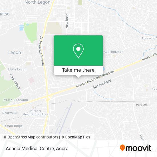 Acacia Medical Centre map