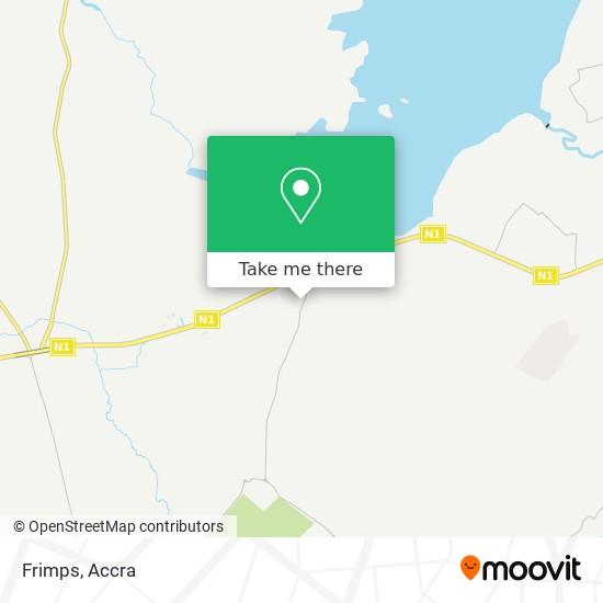 Frimps map