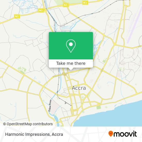 Harmonic Impressions map