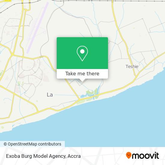 Exoba Burg Model Agency map