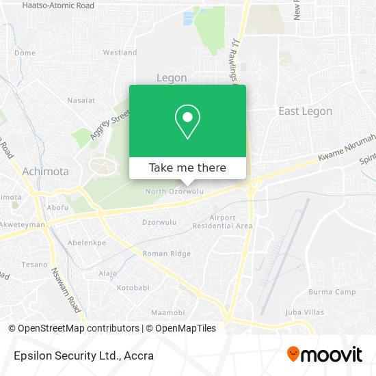 Epsilon Security Ltd. map