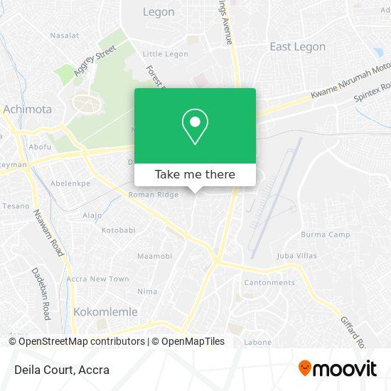 Deila Court map