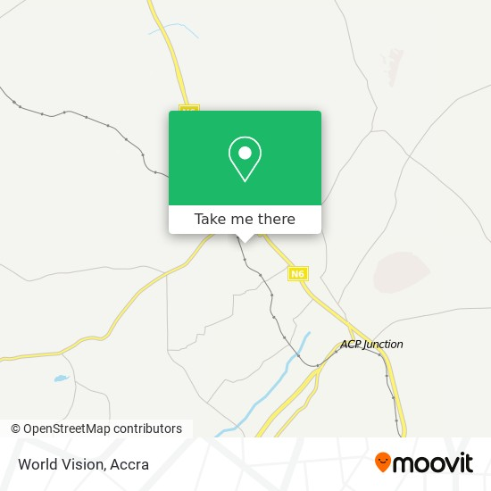 World Vision map