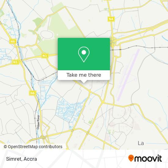 Simret map