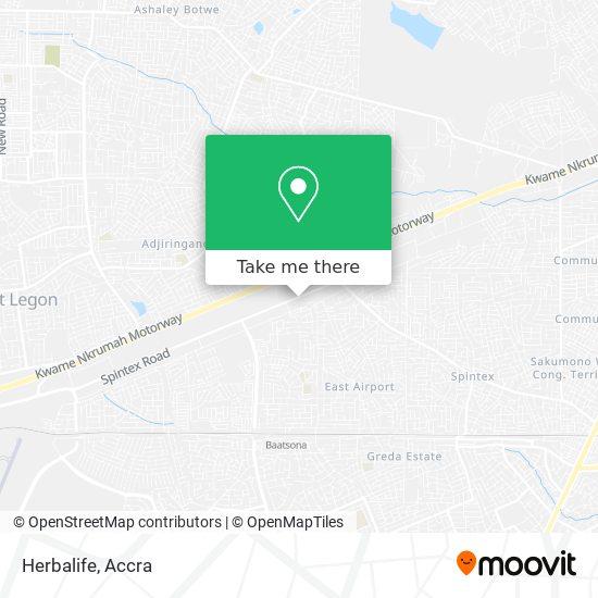 Herbalife map