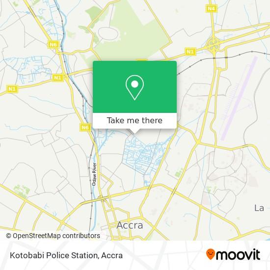 Kotobabi Police Station map