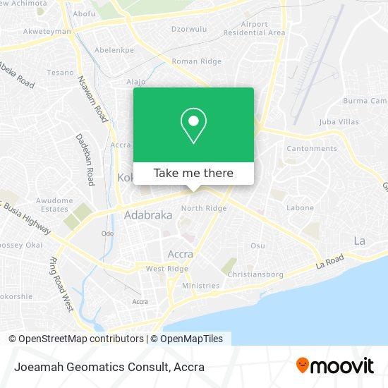 Ashia Courts map