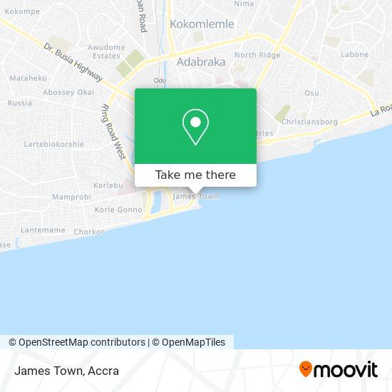 James Town map