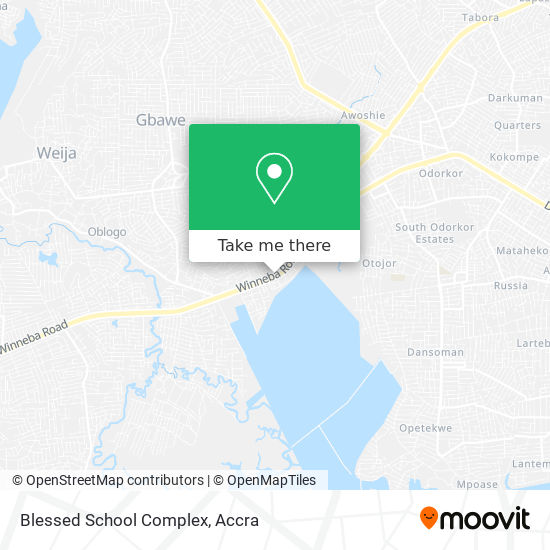 Blessed School Complex map