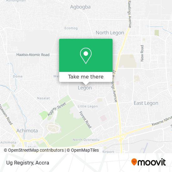 Ug Registry map
