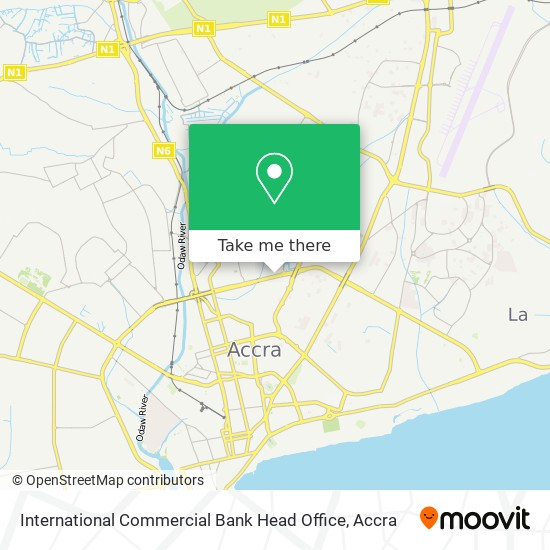 International Commercial Bank Head Office map