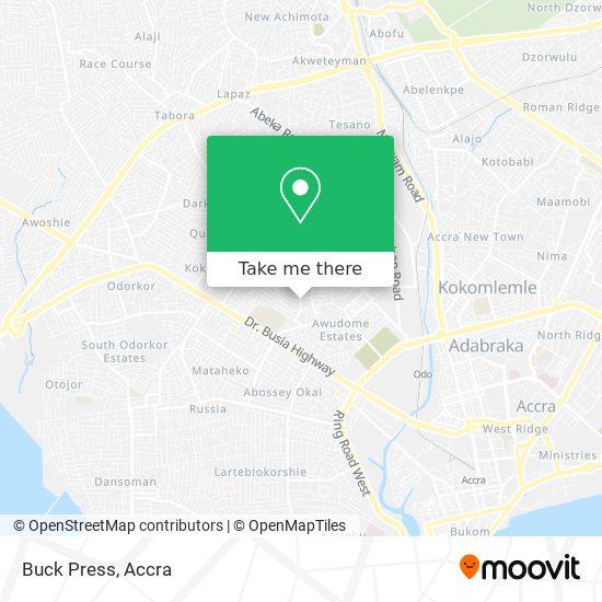 Buck Press map