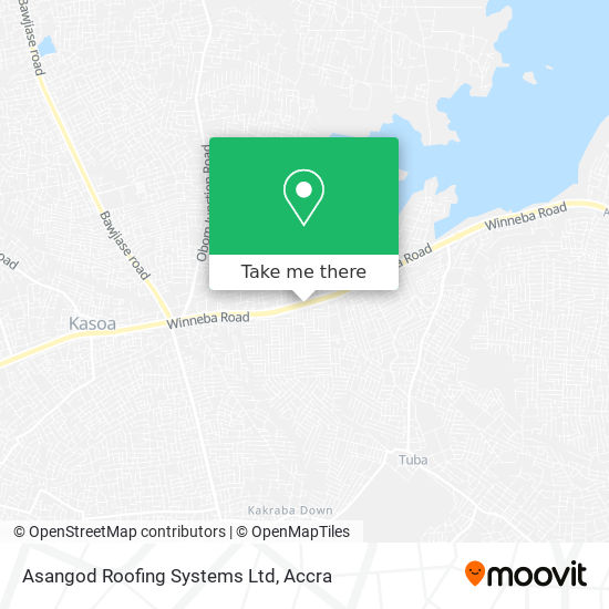 Asangod Roofing Systems Ltd map