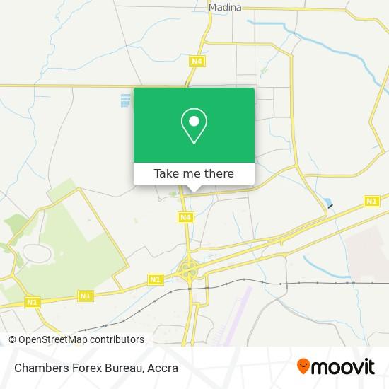 Chambers Forex Bureau map