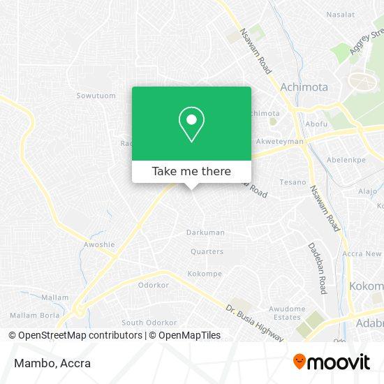 Mambo map