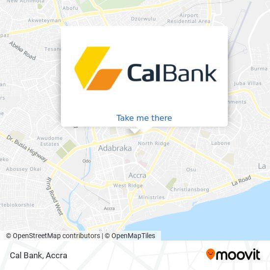 Cal Bank map