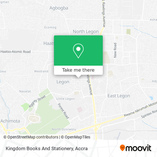 Kingdom Books And Stationery map
