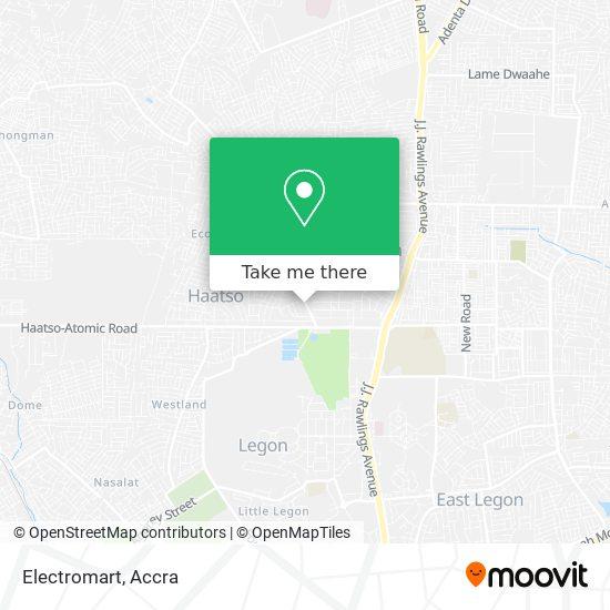 Electromart map