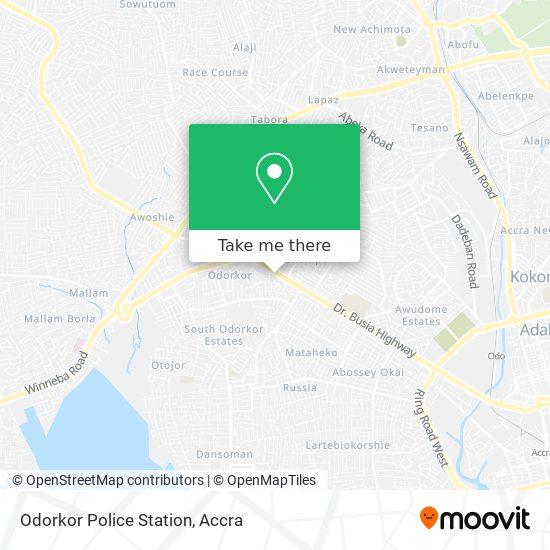 Odorkor Police Station map
