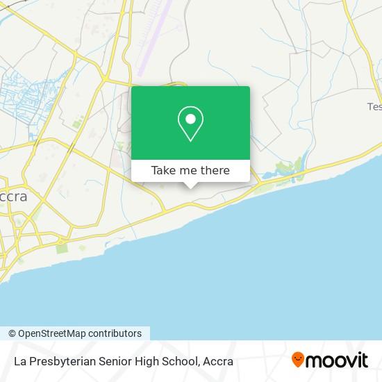 La Presbyterian Senior High School map