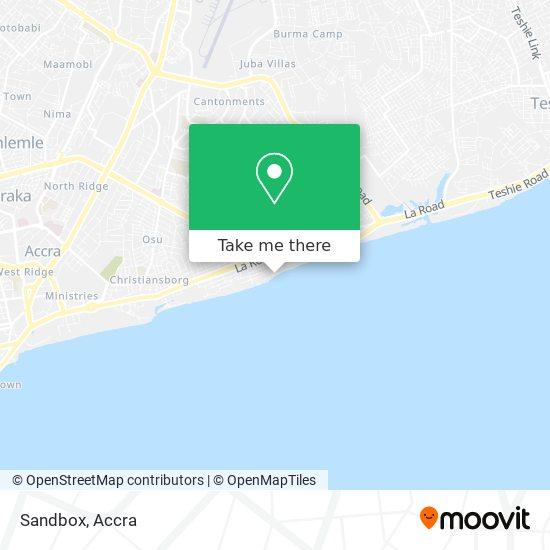 Sandbox map