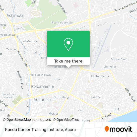 Kanda Career Training Institute map