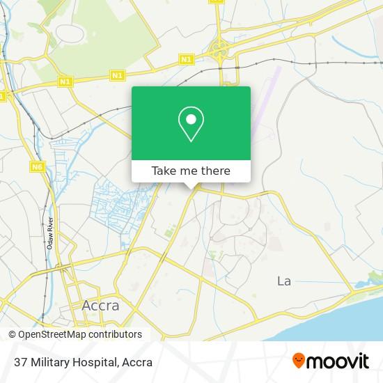 37 Military Hospital map