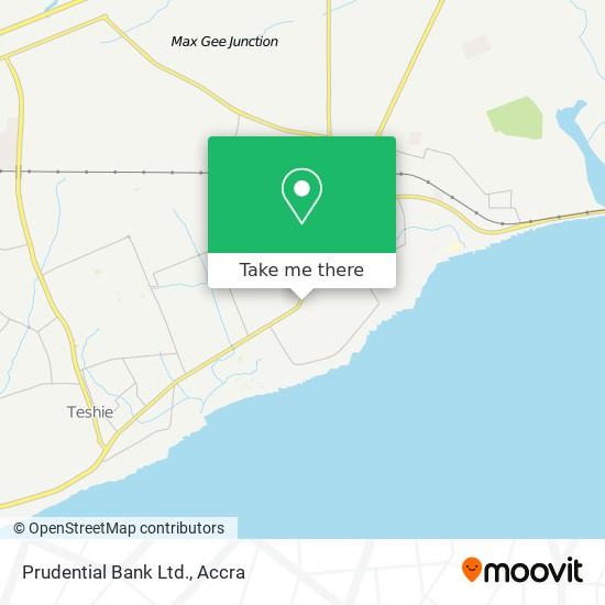 Prudential Bank Ltd. map
