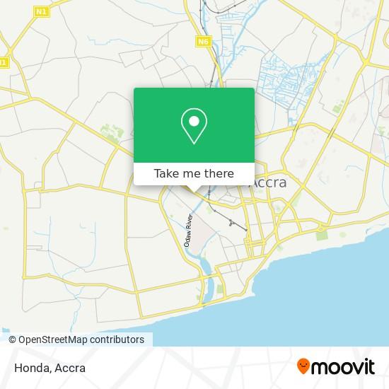 Honda map