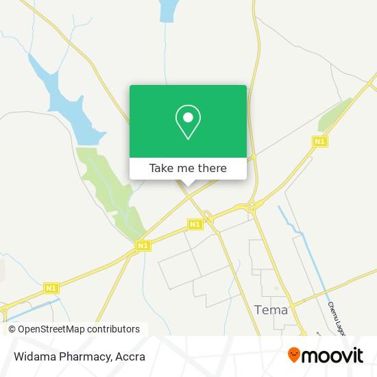 Widama Pharmacy map