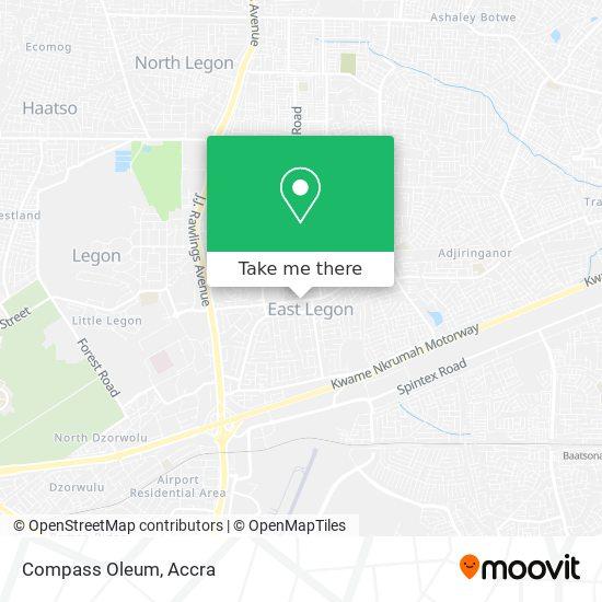 Compass Oleum map