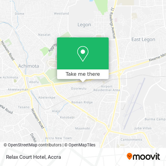 Relax Court Hotel map