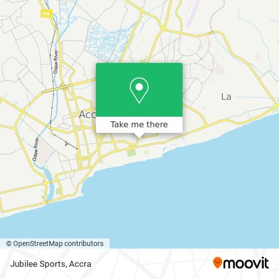 Jubilee Sports map