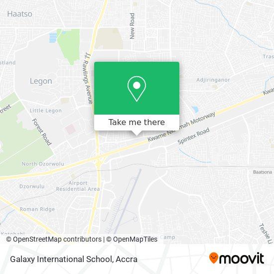 Galaxy International School map