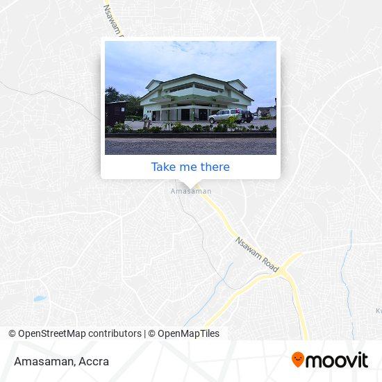 Amasaman map