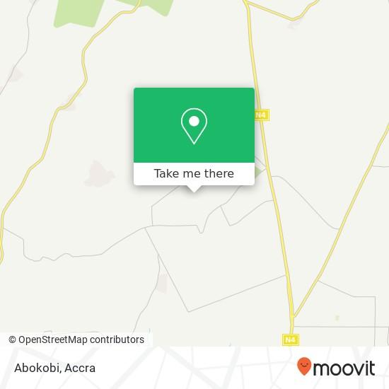 Abokobi map