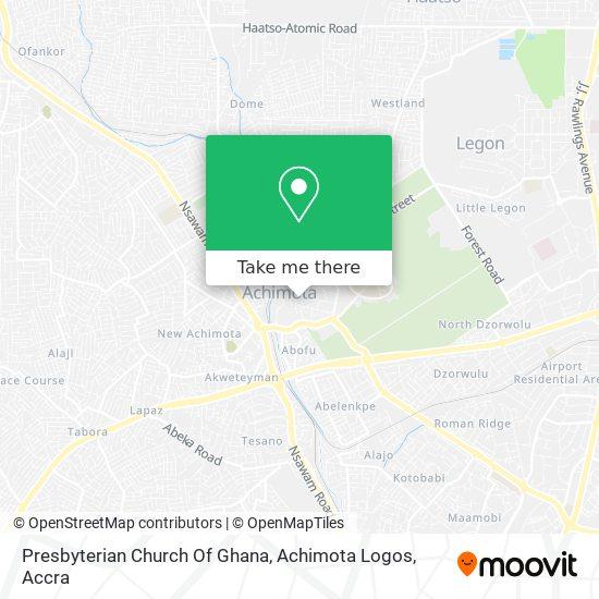 Presbyterian Church Of Ghana Achimota Logos / Achimota College map