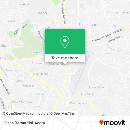 Casa Bernardini map