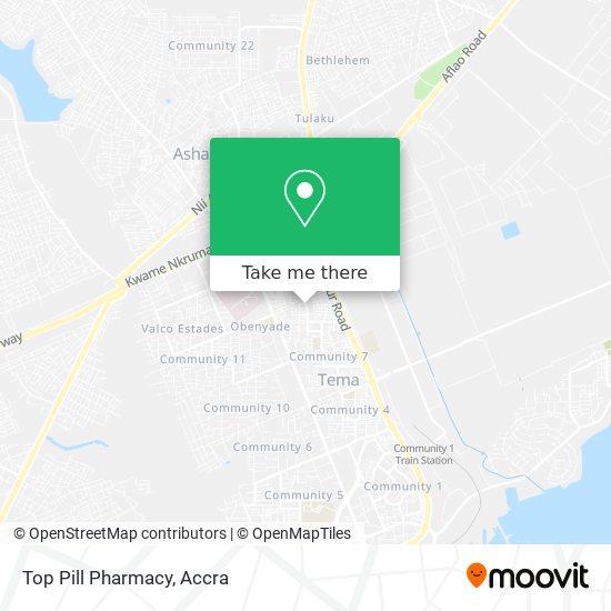 Top Pill Pharmacy map