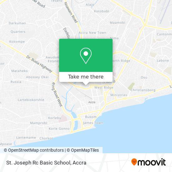 St. Joseph R/C Basic School map